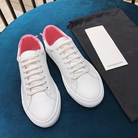 Givenchy Classic color matching small white shoes