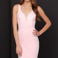 Gracefully Yours Light Pink Dress