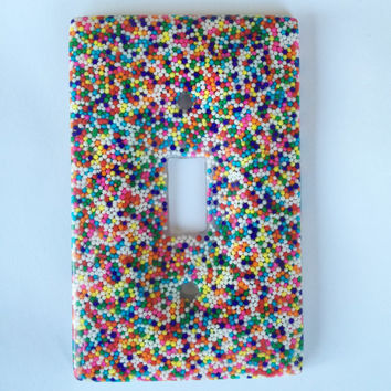 Candy Sprinkle Wall Light Switch Cover / Plate