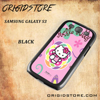 hello kitty 2 For Samsung Galaxy S3 Case - Gift Present Multiple Choice