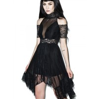 FOR I HAVE SINNED LACE DRESS