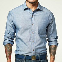 Blue Chambray Shirt - Nick