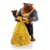 Jim Shore MOONLIGHT WALTZ Polyresin Belle Beast Dancing 4049619