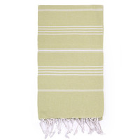 Turkish-T - Beach Towel | Lime