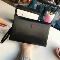 Christian Louboutin Women Men Leather Shoulder Bag Shopping Satchel Tote Bag Handbag