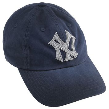 Lucky Brand Ny Yankees Luther Hat Mens - Navy (One Size)