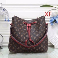 DCCK Louis Vuitton LV Women Fashion Leather Shoulder Bag Satchel Handbag
