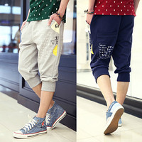 Summer New Sport Cropped Jogger Shorts