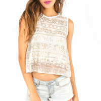 The One You Sequin Tank Top $33