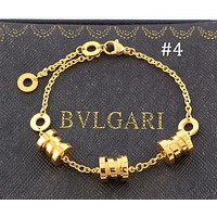 BVLGARI three-ring three-color spring bracelet titanium steel color matching couple jewelry F-HLYS-SP #4