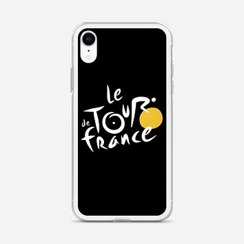Le Tour De France Bicycle Bike Cycling iPhone XR Case