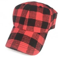 Red Buffalo Plaid Cap