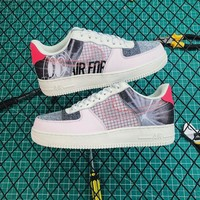 Nike Air Force 1 07 Prm 2 Light Soft Pink/ Sail Sneakers - Best Online Sale