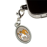 English Bulldog - Pet Dog Mobile Phone Charm