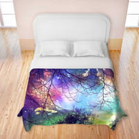 Artistic Duvet Covers by DiaNoche Designs, King, Queen, Twin, Toddler, Home Decor, Bedding, Children, Adult, Look to the Stars