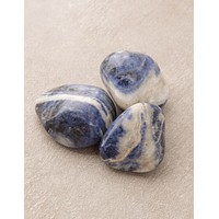 Blue Sodalite Pocket Stones - Set of 3