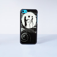 Love The Nightmare Before Christmas Plastic Case Cover for Apple iPhone 5C 6 Plus 6 5S 5 4 4s