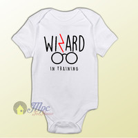 Harry Potter Wizard in Training Baby Onesuit – MPCTeeHouse