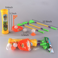 Kids Children Golf Gift Sets Casual Puzzle Game Interaction Indoor Plastic Golf Toys = 1705267268