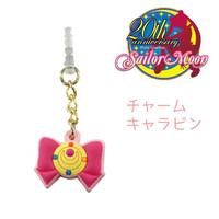 Sailor Moon Character Earphone Jack Accessory (Transformation Brooch / Pink)