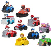 Paw Patrol dog Patrol car Patrulla Canina toys Chase marshall ryder Vehicle Car kids toy
