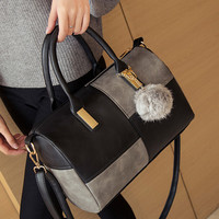 Retro Fashion Women Leather Shoulder Bag Female Casual Crossbody Messenger Bags Chic Handbag Gift 48
