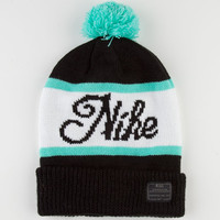 Nike Sb Old Snow Beanie Black Combo One Size For Men 22528114901