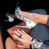 《《 simpleoncharm 》》CL  Women NEW POINTED HIGH HEELS