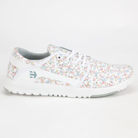 Etnies Scout Womens Shoes White Combo  In Sizes