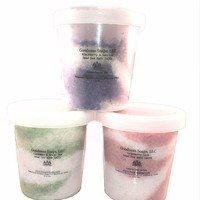 Dead sea bath salts with essential oils