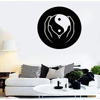 Wall Stickers Vinyl Decal Taiji Yin Yang Chinese Philosophy Taoism (ig857)