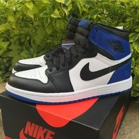 Air Jordan 1 Retro High Og Fragment Design Game Royal Aj1 Sneakers