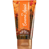 Salted Caramel Apricot Travel Size Body Cream - Signature Collection | Bath And Body Works