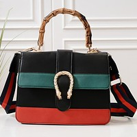 GUCCI Classic Hot Sale Women Shopping Bag Leather Handbag Tote Shoulder Bag Crossbody Satchel