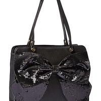 BOW REGARD LARGE SATCHEL