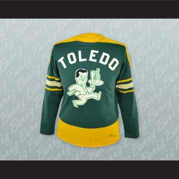 Toledo Buckeyes Hockey Jersey Stitch Sewn NEW Any Player or Number