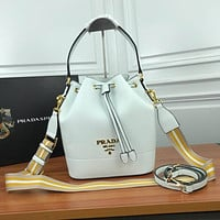 prada women leather shoulder bags satchel tote bag handbag shopping leather tote crossbody 277