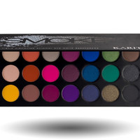 21 Highly Pigmented Pro Eyeshadow Palette Makeup Kit Set