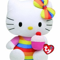 Ty Beanie Buddy HELLO KITTY - Cupcake (Medium)