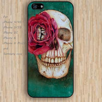 iPhone 5s 6 case skull case flowers skull dream catcher colorful phone case iphone case,ipod case,samsung galaxy case available plastic rubber case waterproof B605