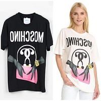 "Moschino ""Handbag"" Fashion Women T Shirt"