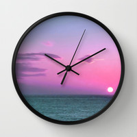 Break of Day Wall Clock by Ally Coxon