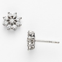 Women's Kwiat 'Blooms' Diamond Stud Earrings - White Gold