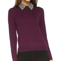 Rosalind Embellished Collar Sweater