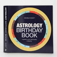 Astrology Birthday Book By Michele Knight - Assorted One
