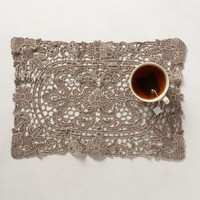 Lacy Cutwork Placemats by Anthropologie Taupe Set Of 4 Kitchen