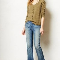 Pilcro Cropped Fray Jeans