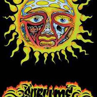 Sublime Sun Logo Black Light Poster 23x35