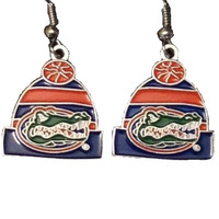 Florida Gators Knit Hat Earrings