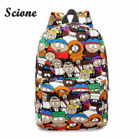 Casual South Park & Cartoon Bookbags